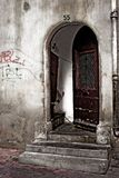 Puerta vieja Fotos de archivo libres de regalías