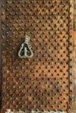 Puerta vieja aherrumbrada Imagen de archivo libre de regalías