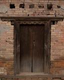 Puerta vieja de la casa Foto de archivo libre de regalías
