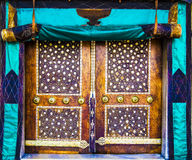 Puerta vieja de la mezquita Foto de archivo