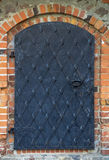 Puerta vieja del hierro Foto de archivo