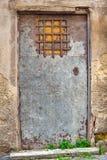 Puerta vieja del hierro Fotos de archivo