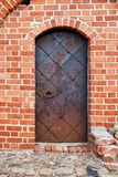 Puerta vieja del metal Imagen de archivo libre de regalías