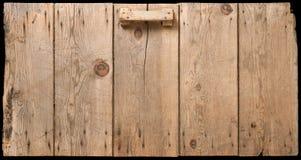 Puerta vieja del pesebre del maíz Imagenes de archivo