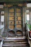 Puerta vieja del vintage Foto de archivo