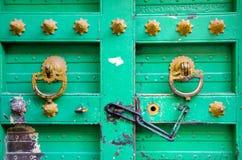 Puerta vieja del vintage Imagen de archivo libre de regalías