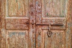 Puerta vieja del vintage Foto de archivo libre de regalías