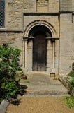 Puerta vieja en el edificio Imagen de archivo libre de regalías
