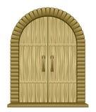 Puerta vieja libre illustration