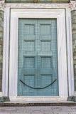 Puerta vieja grande Foto de archivo libre de regalías