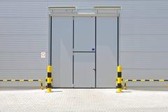 Puerta Warehouse Imagenes de archivo