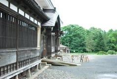 Puerta y entrada de la casa japonesa Fotografía de archivo