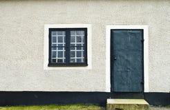 Puerta y ventana Foto de archivo
