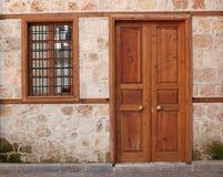 Puerta y ventana viejas Imagenes de archivo