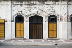 Puerta y ventanas Fotos de archivo libres de regalías
