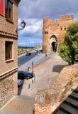 Puerta del Solenoid, Toledo Royaltyfria Bilder