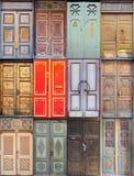 Puertas Imagen de archivo libre de regalías