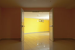 Puertas abiertas Fotografía de archivo