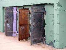 Puertas abiertas en el fuerte Cronkite Imagenes de archivo