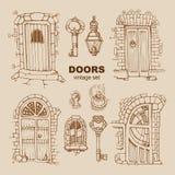 Puertas antiguas Fotografía de archivo