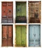 Puertas antiguas Foto de archivo libre de regalías