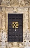 Puertas antiguas de la India imágenes de archivo libres de regalías