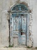Puertas azules de Sidi Bou Said Tunisia Foto de archivo libre de regalías