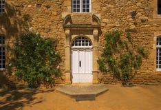 Puertas blancas Fotografía de archivo