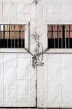 Puertas bloqueadas imagen de archivo libre de regalías