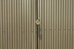 Puertas bloqueadas Imágenes de archivo libres de regalías
