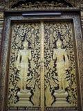 Puertas budistas foto de archivo