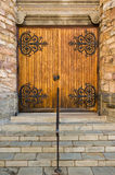 Puertas cerradas de la iglesia Imagenes de archivo