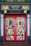Puertas chinas del templo Fotografía de archivo libre de regalías