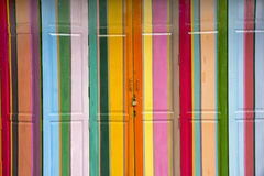 Puertas coloridas -1 Imagen de archivo libre de regalías