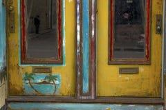 Puertas coloridas Foto de archivo libre de regalías