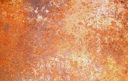 Puertas de acero oxidadas Imagen de archivo