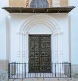 Puertas de bronce de St Sophia Cathedral Fotos de archivo libres de regalías
