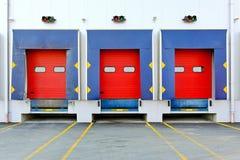 Puertas de carga Foto de archivo