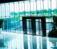 Puertas de cristal Foto de archivo