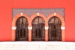 Puertas de cristal imagen de archivo libre de regalías
