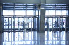 Puertas de cristal Fotos de archivo