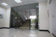 Puertas de cristal Foto de archivo libre de regalías