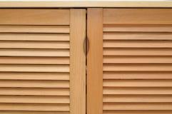 Puertas de gabinete Fotos de archivo