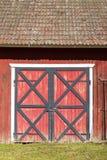 Puertas de granero Fotografía de archivo