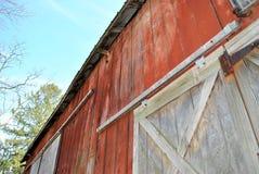Puertas de granero grandes fotografía de archivo libre de regalías