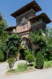 Puertas de Grazzano Visconti Fotos de archivo