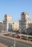 Puertas de la ciudad de Bielorrusia Minsk - fotos comunes Fotografía de archivo