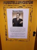 Puertas de la exposición para las víctimas de Auschwitz Fotografía de archivo