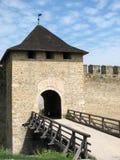 Puertas de la fortaleza imagenes de archivo