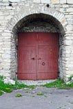 Puertas de la fortaleza en Pskov, Rusia Fotos de archivo libres de regalías
